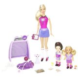 Barbie I Can Be Football Coach Playset - New for 2009
