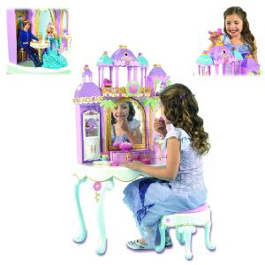 Barbie Island Princess Castle Vanity Dressing Table