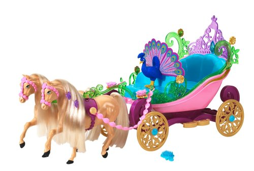 Barbie Island Princess Horse And Carriage