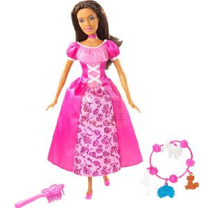 Barbie Island Princess Maiden Doll Pink