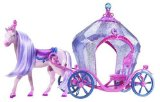 Barbie The Diamond Castle Horse and Carriage