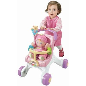 Fisher Price Brilliant Basics Stroll and Play Walker