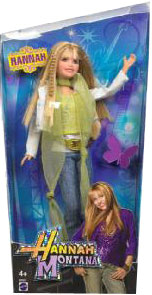 Hannah Montana Doll Green Top