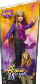 Hannah Montana Doll Purple Top
