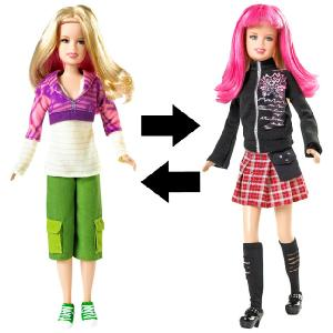 Hannah Montana Transforming Doll Lola Lilly