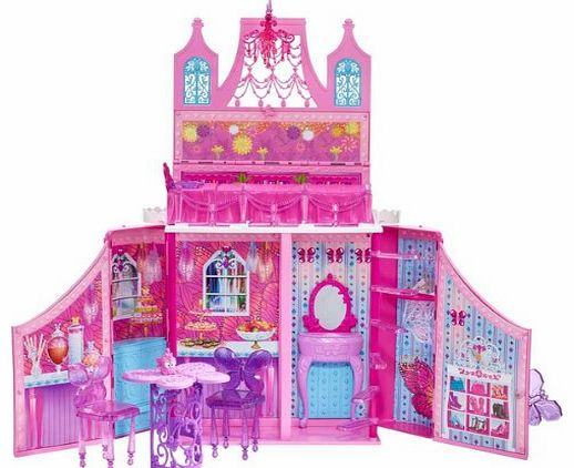 Barbie - Princess Castle Playset -The all new DVD Barbie Mariposa and the Fairy Princess brings back the beloved fairy in a new role, as an ambassador to a faraway fairy kingdom, where she stay
