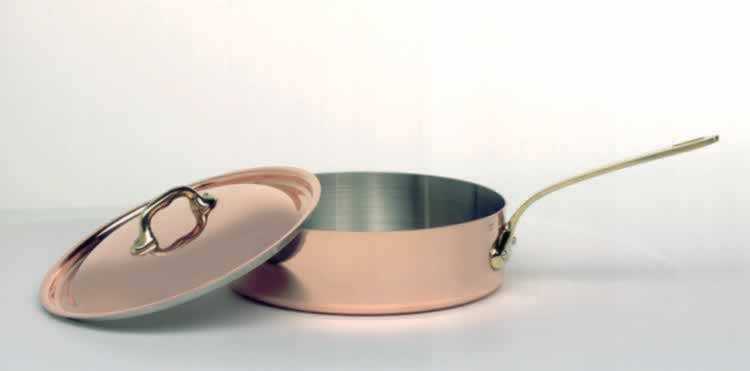 MAUVIEL Saute pan 24cm and lid  cast iron