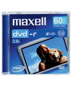 Maxell DVD-R CAM 60 Minute x 3 Pack Jewel Case
