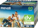 Maxell Mini DV Camcorder Tapes 5-Pack ( Mini DV CamCord