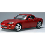 mazda MX5 2006 Copper Red - Removable Roof