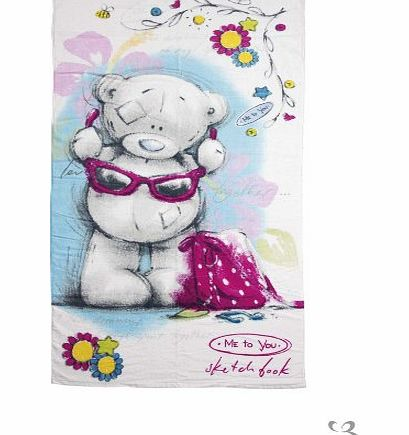 Me To You Sketchbook Me to You Bear Beach Towel