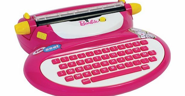Barbie Electronic Typewriter with adapter