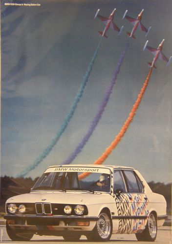 BMW M Power BMW and Planes Poster