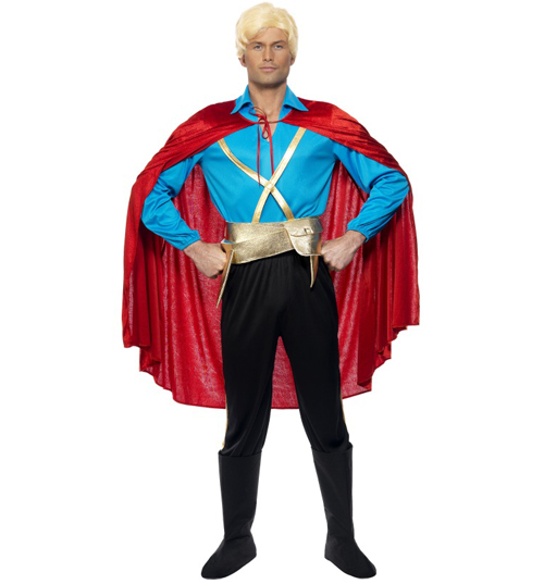 Flash Gordon Fancy Dress Costume