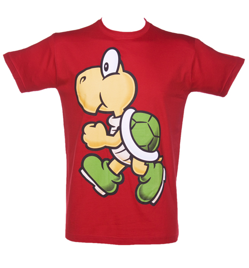 Red Nintendo Koopa T-Shirt