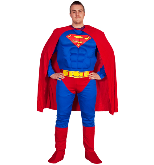 Superman Fancy Dress Costume