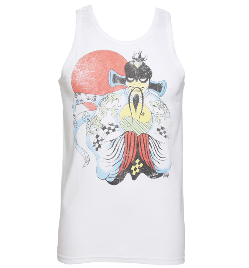 White Big Trouble In Little China Vest