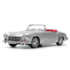 mercedes 190SL 1957 - Light grey 1:18