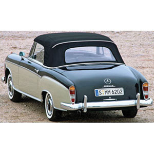 mercedes 220S White/Dark Grey