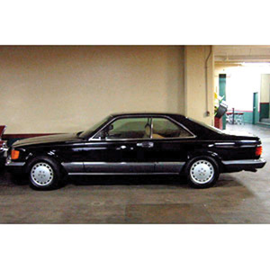 Model cars mercedes benz 560 sec 1986 b for 1986 mercedes benz 560 sec