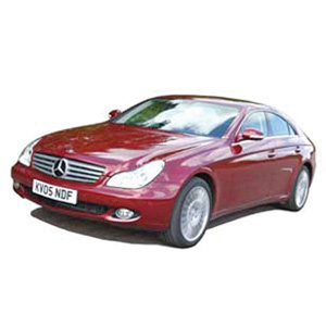 mercedes Benz CLS 2004 Metallic Red