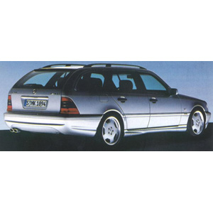 mercedes C43 Station Wagon Silver