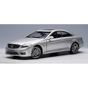 Mercedes CL63 AMG 2006 - Silver 1:18