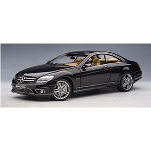 mercedes CL63 AMG 2007 Black 1:18