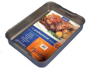 Hard Anodised Roasting Dish 37cm x 26.5cm