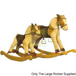 Holly Bow Rocking Horse
