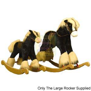 Shire Horse Bow Rocking Horse