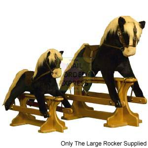 Shire Horse Safety Rocking Horse