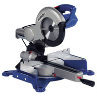 Blue Kgs 255 210mm Sliding Compound Mitre Saw 1300W 110V