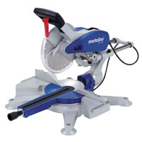 Blue Kgs 303 250mm Double Bevel Sliding Compound Mitre Saw 1800W 240V