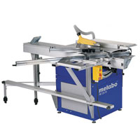 Blue Pkf 255V8 3400W 250mm Table Panel Saw Package 400V