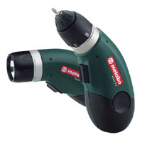 Cordless 4.8V Power Grip Screwdriver With Flashlight