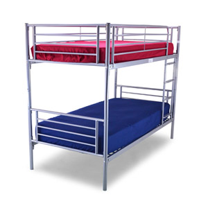 Metal Beds Bertie 3FT Single Metal Bunk Bed