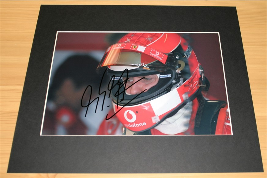 HAND SIGNED and MOUNTED PHOTO