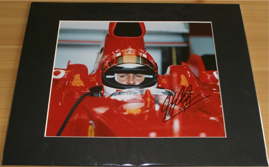 HAND SIGNED PHOTOGRAPH -