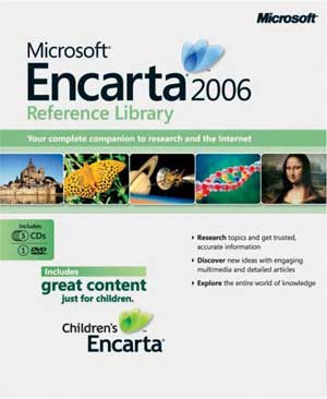 Microsoft Encarta Reference Library 2006