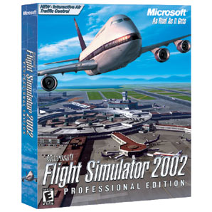 MICROSOFT Flight Sim 2002 Pro PC