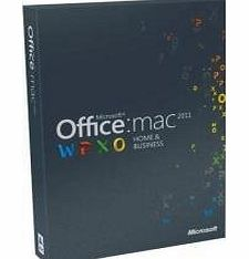 Microsoft Office Mac 2011 Home and Business 2011 - 1PC/1User (Disc Version)