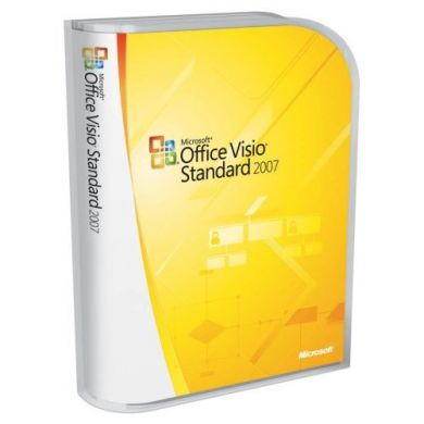 Visio 2007 Standard Upgrade - Retail Boxed