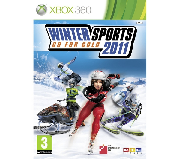 Winter Sports 2011 Go for Gold XBOX 360