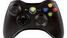 Xbox 360 Official Wireless Controller - Black on