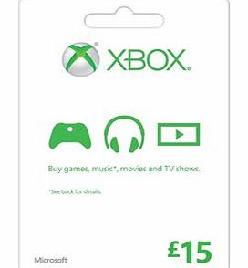 Xbox Live £15 Gift Card on Xbox One
