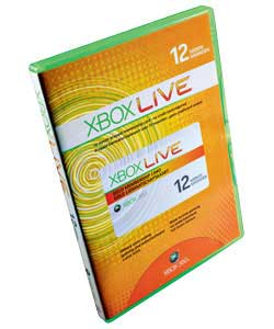 Xbox LIVE 12 Months Gold Membership Subscription