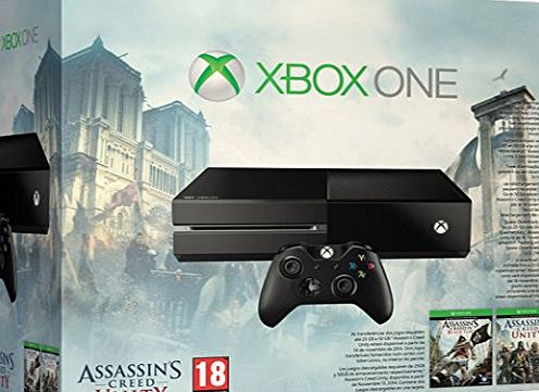 Xbox One Console with Assassins Creed and Call