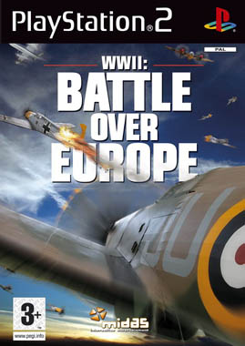 WWII Battle Over Europe PS2