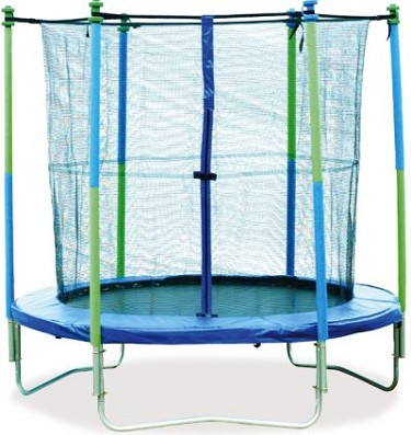 Mightymast 10ft Trampoline Set With Safety Enclosure